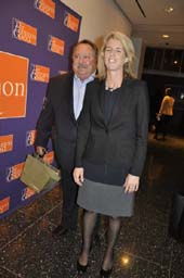 DDS Matthew Kaufman with Rory Kennedy for Screening of her Documentary Ethel about her terrific Mom
