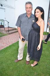 Alec Baldwin, Hilaria Baldwin.  Photo by:  Rose Billings
