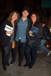 Joanne Tozzi, Orlando Bloom (Romeo and Juliet)  and Lori Long O.  photo by:  rose billings