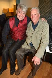 Richard Skipper and David Hartmann.  photo by:  rose billings