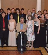 Perlman Music Program Group.  Photo by:  Annie Watt (Perlman)