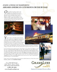 Luxury Travel, Grand Luxe Rail Journeys