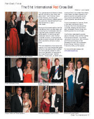 The 51st International Red Cross Ball, Bill and Nancy Rollnick, Donald and Melania Trump, George Cloutier, Tiffany Spadafora