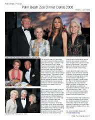 Palm Beach Zoo Dinner Dance 2008, Donald and Melania Trump, Tippi Hedren, Frances Hayward, Charlene Nederlander, James Kaufman, Callista and Newt Gingrich, Gay Gaines