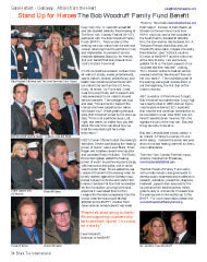 The Bob Woodruff Family Fund Benefit, Stand Up for Heroes, Sara Herbert Galloway, Diane Sawyer, Brian Williams, Conan O'Brien, Robin Williams, Mr and Mrs Dave Woodruff