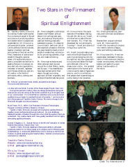 Mr Kimura and Mrs.Mira Joy Vivant, as featured in Black Tie International