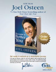 Become a Better You, Joel Osteen, Recommended Reading