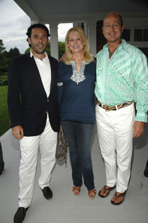 Leonel Piraino, Nina Griscom and Prince Dimitri of Yugoslavia