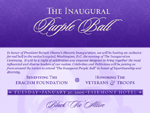 The Inaugural Purple Ball, Barak Obama
