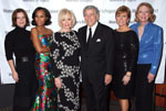Marcia Gay Harden, Kerry Washington, Iris Cantor, Tony Bennett, Laurie Tucker, Merrie Spaeth