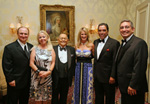 Paul Marino, Arlette Gordon, Robert G. Gordon, Cathie Fanjul, Andres Fanjul, Angel Aloma