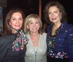 Jean Shafiroff, Sharon Bush, Margo Langenberg