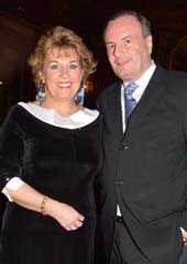 H.E. Geraldine Byrne Nason, Gerard Mc keon.  Photo by:  Rose Billings/Blacktiemagazine.com