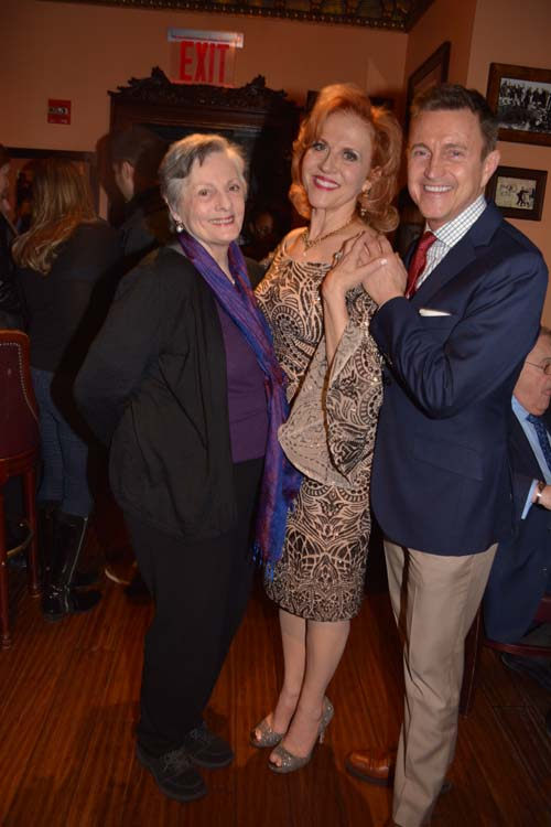 Dana Ivey, Anna Bergman and Jeff Harnar.  Photo by:  Rose Billings/Blacktiemagazine.com