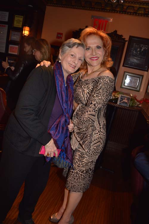 Dana Ivey and Anna Bergman.  Photo by:  Rose Billings/Blacktiemagazine.com