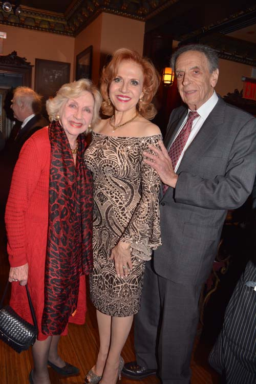 Adele Elow, Anna Bergman and  and Larry Elow.  Photo by:  Rose Billings/Blacktiemaagzine.com