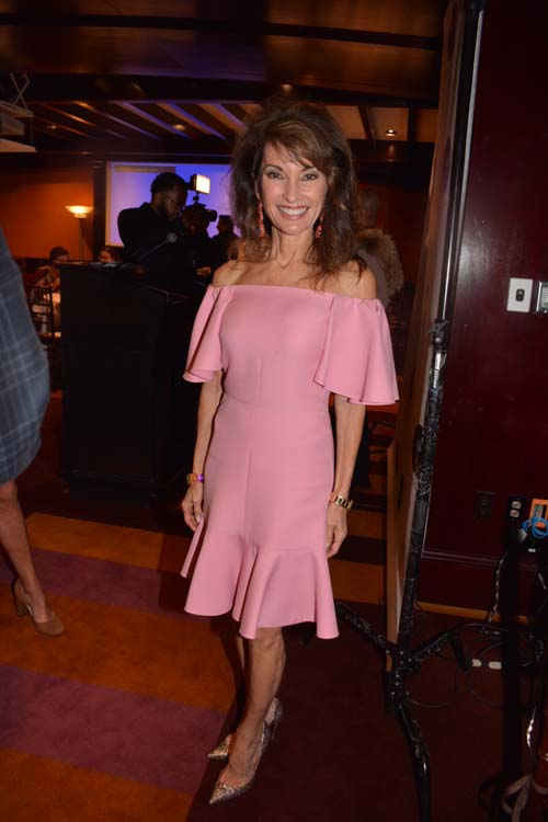 Honoree, Susan Lucci (Actress and Performer).  Photo by:  Rose Billings/Blacktiemagazine.com