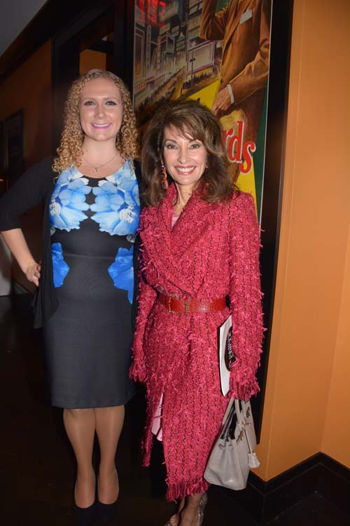 Cristina Merone with Susan Lucci.  Photo by:  Rose Billings/Blacktiemagazine.com