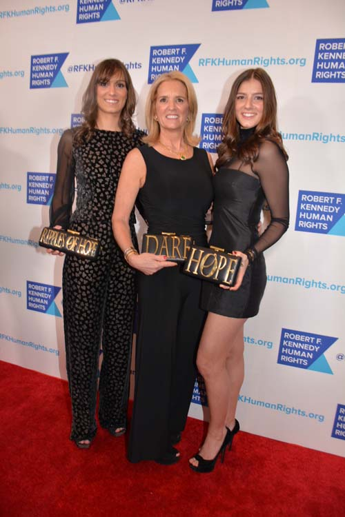 Mariah Kennedy Cuomo, Kerry Kennedy, and Michaela Kennedy Cuomo. Photo by:  Rose Billings/Blacktiemagazine.com