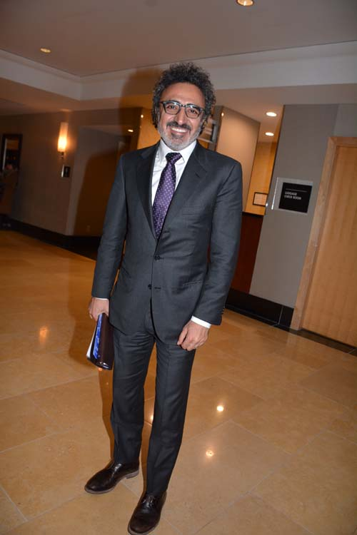 Honoree, Hamdi Ulukaya, Founder, Chairman & CEO, Chabani.  Photo by:  Rose Billings/Blacktiemagazine.com