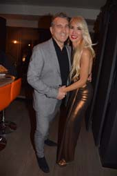 Jerry Turco and Tracy Stern .  Photo by:  Rose Billings/Blacktiemagazine.com