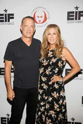Tom Hanks and Rita Wilson. Photos by:  Ryan Miller/Capture Imaging