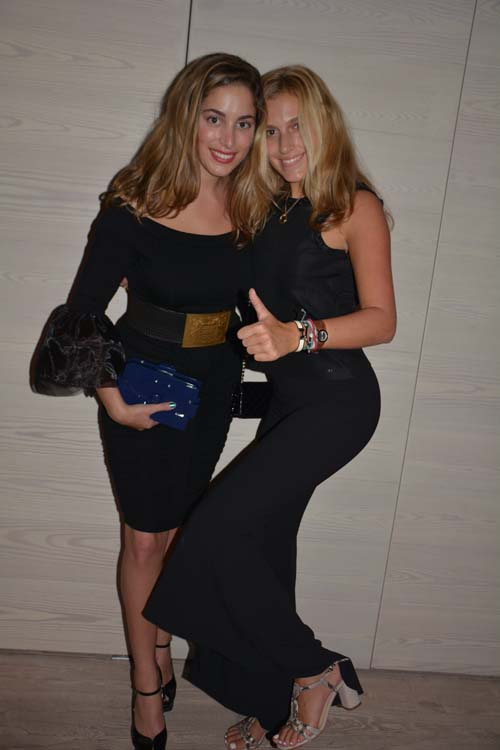 Raquel Von Fischer and Isabella Brodie.  Photo by:   Rose Billings/Blacktiemagazine.com