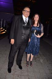 Paul Sorvino and his wife Dee Dee Sorvino.  Photo by: Rose Billings/Blacktiemagazine.com