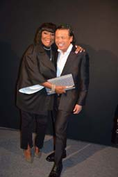 Patti La Belle and Zang Toi.  Photo by:  Rose Billings/Blacktiemagazine.com