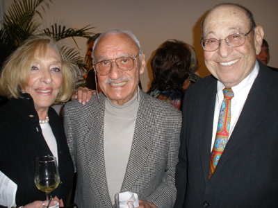 Blossom Gluck, Donald Kalfin and Dr. Martin Gluck at Spring Fling