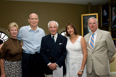 Sarah T. Dowling, Ambassador Loeb, Former Governor Bruce Sunlund, Susie Sunlund and Joseph L. Dowling