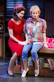 "Lois Robbins and Jenni Barber in ""Cactus Flower"""