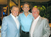 Regis Philbin, Jim Van Slyke and Neil Sedaka