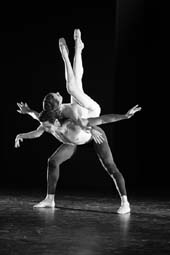 Corps de Ballet dancer Luciana Paris with Soloist dancer Alexandre Hammoudi. Photo by:   Alex Berliner