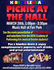 PICNIC AT THE HALL