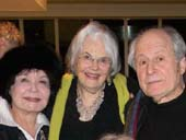 Fiddle Viracola, Lois Smith and David Margulies Signature Theatre