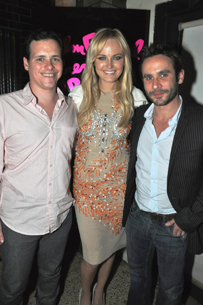 Benji Kohn, Malin Akerman and Austin Stark