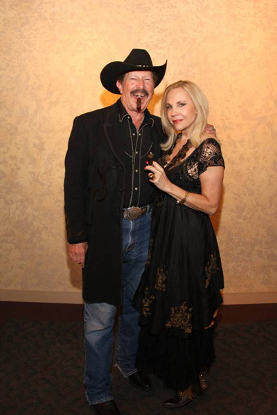 Kinky Friedman and Carolyn Farb