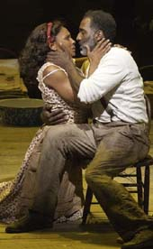 Audra McDonald and Norm Lewis. Photo by:  Michael J. Lutch