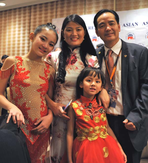 Harmony Liu, Eirene Hope Liu, and their proud parents
