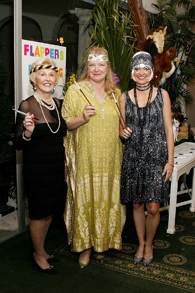 Margie McCloskey, Margo dePeyster and Denise McCann