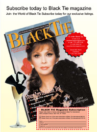 Black Tie International, Gina Lollobrigida, subscription page