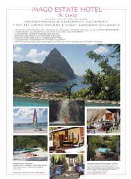 Black Tie International, real estate, Mago Estate Hotel, St. Lucia