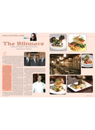 Black Tie International, Restaurants, Sheldon Landwehr, The Biltmore