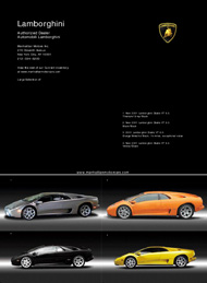 Black Tie INternational, Fine cars, Manhattan Motor Cars, Lamborghini