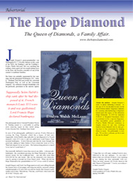 Black Tie International, Society, The Hope Diamond, Joseph Gregory, Evalyn Walsh McLean