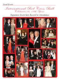 Black Tie International, Society, Celebrity, Philanthropy, Red Cross Ball, Palm Beach