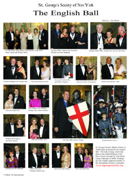 The english Ball, St George Society of New York