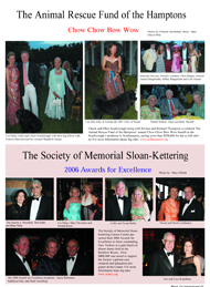 Animal rescue of the Hamptons, Society of Memorial Sloan kettering