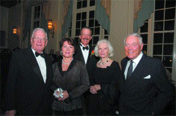 Alexander and Renate Dreyfoos, W. Andrew Hodge, M.D., Pat and General Alexander Haig.